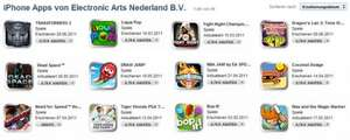 Alle Electronic Arts Spiele für 0,79€ im App Store (iPhone/iPod/iPad)