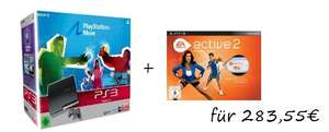 PS3 Konsole + Move Starter Pack + optionales Spiel ab 279€