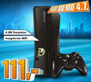 Nur Morgen am 04.07. - Xbox 360 Slim 4GB für 111€ bei Saturn/Amazon *Update* Hammer!