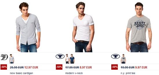 *Top* Tom Tailor Sale + 20% Zusatzrabatt durch Gutschein *UPDATE* Sale Finale bei Esprit