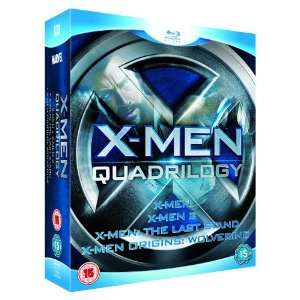 X-Men Quadrilogy Box (Blu-ray) für 15€ statt 37€