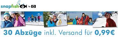 30 Fotoabzüge inkl. Versand für 0,99€