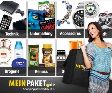 30€ Gutschein für MeinPaket für 13,50€!
