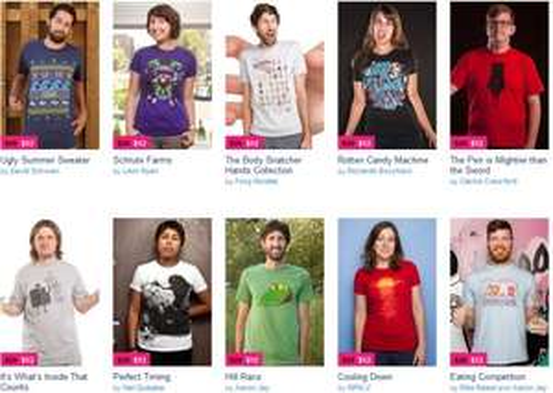 Threadless Sale - ab 10€ pro T-Shirt *Update* 5$ Gutschein auf Facebook