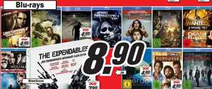Amazon vs. MediaMarkt: Blu-Rays ab 8,90€ und DVDs ab 4,90€