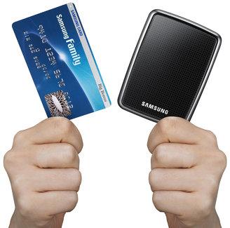 """Samsung S1 Mini 120GB (1.8"""" ext. Festplatte) für nur 28€ statt 42€!"""