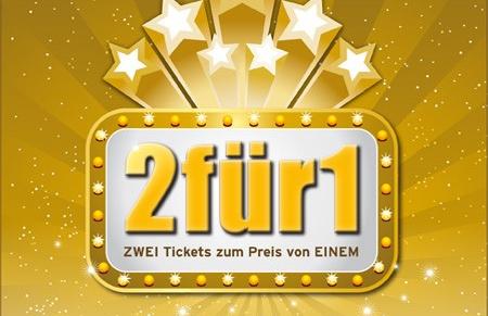 UCI Kinowelt verschenkt 2-für-1-Gutscheine *Update*
