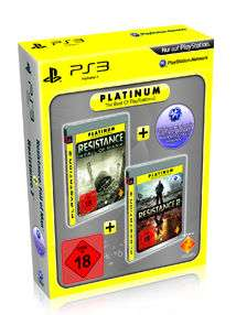 Playstation 3 Platinum Twin Packs: z.B. Uncharted 1 & 2 für 22€