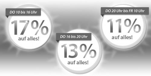 17% Rabatt auf Alles bei MeinPaket - Nur morgen
