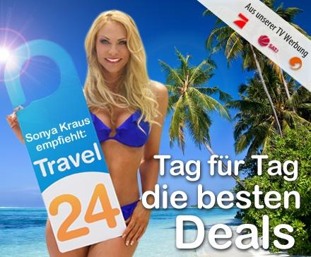 120 Euro Travel24.com Gutschein für 15 Euro *UPDATE* Nochmal 10% günstiger