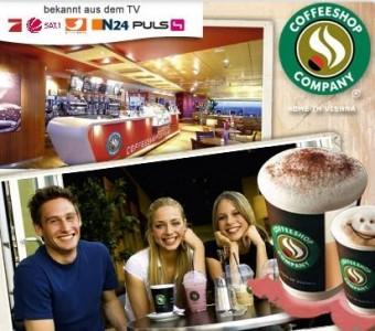 Coffeeshop Company 10€ Kaffeegenuss für 5€ bei DailyDeal