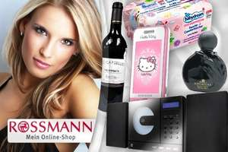25€ Rossmanversand.de Onlinedrogerie Gutschein für 15€