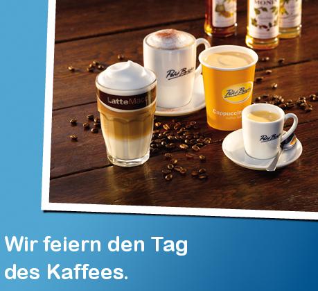 Gratis Kaffee im Petit Bistro von ARAL