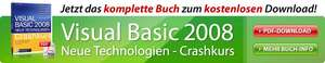 [eBook] Visual Basic 2008 - Crashkurs kostenlos