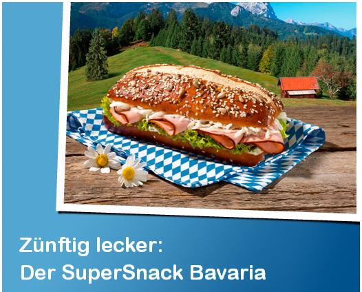 Kostenloser SuperSnack Bavaria mit Petit Bistro Gustschein