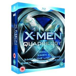 X-Men Quadrilogy (Blu-ray) für 12,50 Euro