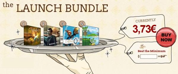 IndieRoyale Spiele-Bundle mit 4 PC-Spielen für aktuell 3,68€