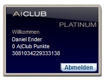 Kostenlose A|Club Platinum Mitgliedskarte: Vorteile für große Hotelketten *Update* Wieder da!
