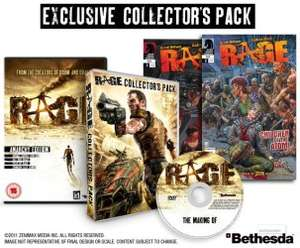RAGE Anarchy Edition + Collectors Pack ab 20 Euro @Gameplay