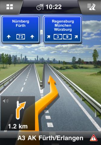 iPhone/iPad App: Navigon Europe v2.0 für 50€ statt 90€!