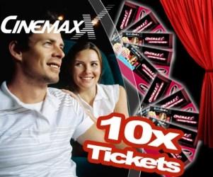 CinemaxX Tickets inkl. Zuschläge ab 5,31 Euro pro Stück
