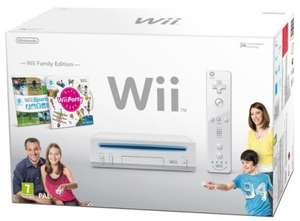 Nintendo Wii Family Edition für ~110€ statt 142€ bei Amazon UK