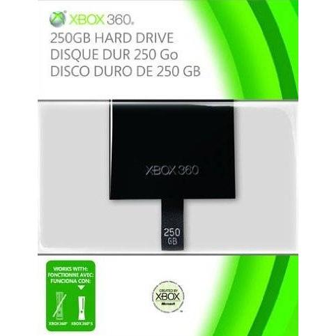 XBox 360 Slim Festplatte 250GB für 30€ bei GameStop