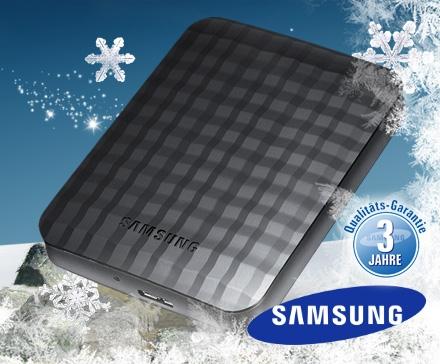 Samsung M2 Portable 750GB für 58 Euro statt 79 Euro