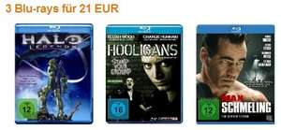 Film-Angebote: Blu-Rays ab 7 Euro bei Amazon