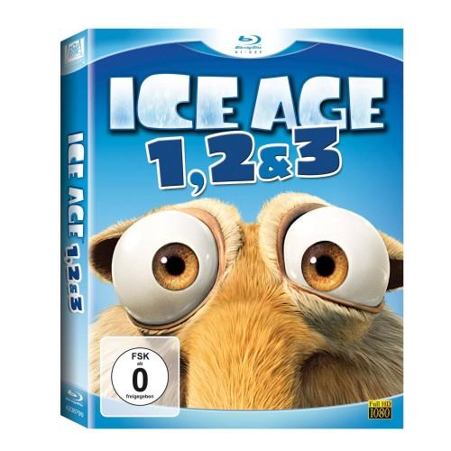 Ice Age 1-3 Box Set (Blu-Ray) für 14,99 Euro