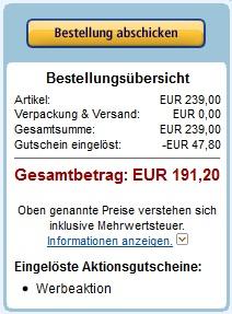 20% Zusatzrabatt: Logitech Z906 (5.1 System) für 191€ bei Amazon!