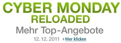 Cyber Monday #3 am 12.12. bei Amazon (150 Blitzangebote in 14 Stunden!)