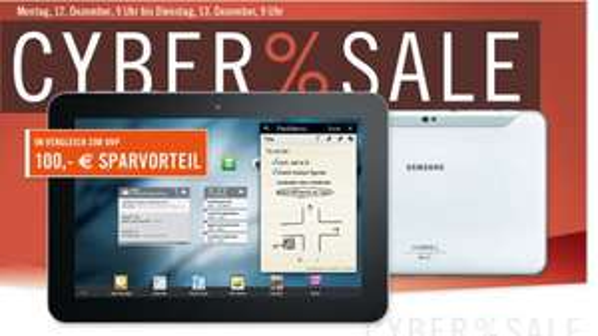 Samsung Galaxy Tab 8.9 3G für 404€ statt 440€