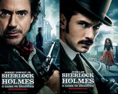 """Freikarten zu """"Sherlock Holmes: Spiel im Schatten"""" für o2 und Alice Kunden"""