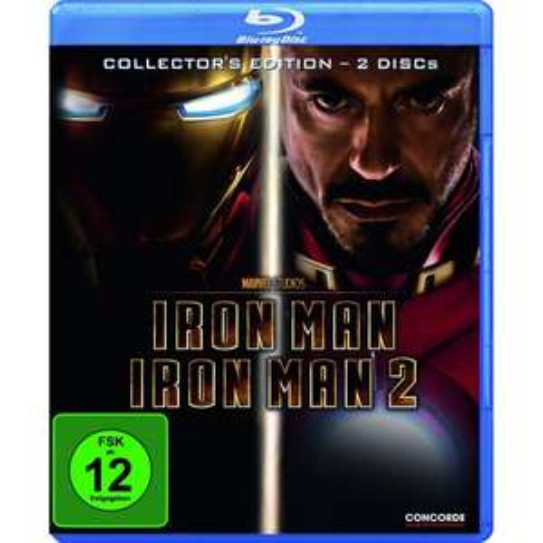 Amazon Adventskalender: Iron Man 1+2 (Blu-ray) für 10 Euro