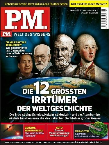P.M. Magazin Jahresabo für 0,80 Euro mit BestChoice Gutschein