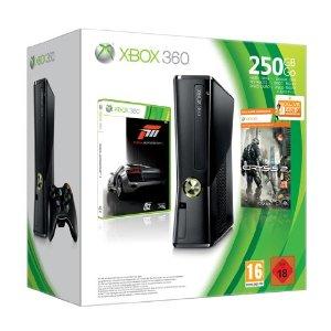 Xbox Slim 250GB + 2 Games (Forza 3 und Crysis 2) + 3 Monate Xbox Live Gold für 199,99 Euro