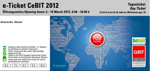CeBIT Freikarten 2012 - Liste aller Aktioncodes *Update*