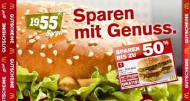 Neue McDonald's Gutscheine ab 09.01. für Deutschland und Österreich *Update* McCafe Tassen zum McMenü