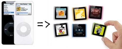 iPod nano (1. Generation) Rückrufaktion - kostenlos gegen neuen iPod nano (6. Generation) tauschen!