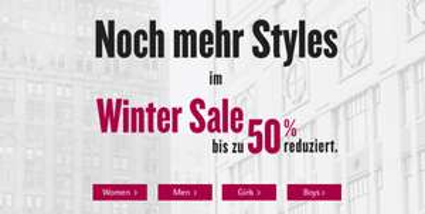 50% Winter Sale bei Tom Tailor + 20% Rabatt durch Gutscheincode