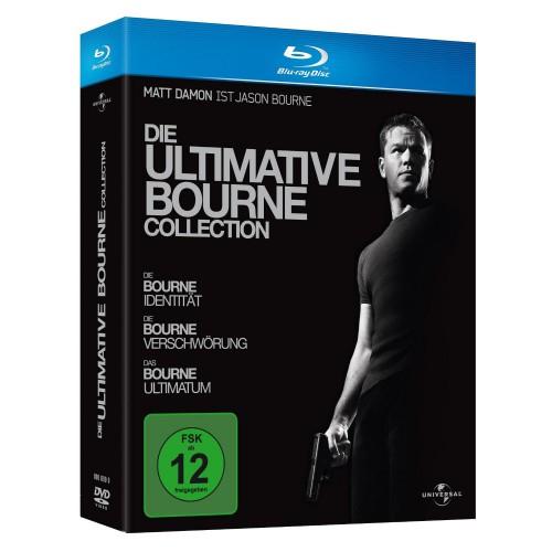 Die ultimative Bourne Collection (Blu-ray) für nur 11 Euro *UPDATE*