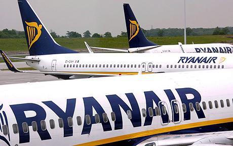 Ryanair Sale mit beschränkter Flugauswahl innerhalb Europas (28€ hin und retour)