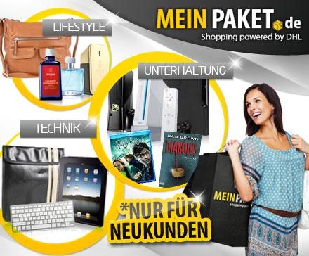 MeinPaket-Gutschein über 30 € für 14,99 € *Update* jetzt für 13,50 €