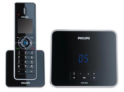 Philips VoIP 8551 - DECT-Festnetz- & VoIP-Telefon für 70 € - 36% Ersparnis *Update*