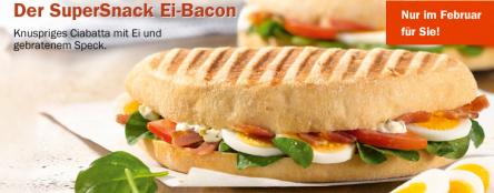 Gratis SuperSnack Ei-Bacon in jedem Aral PetitBistro (für Facebook-Nutzer)
