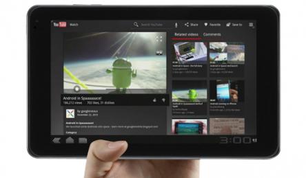 Android-Tablet LG V900 Optimus Pad für 341 € statt 440 €