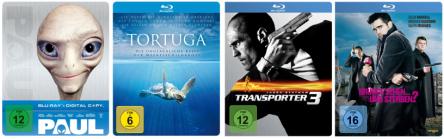 Amazon: Blu-rays für 5,97 € und Blu-ray-Steelbooks für 9,97 €