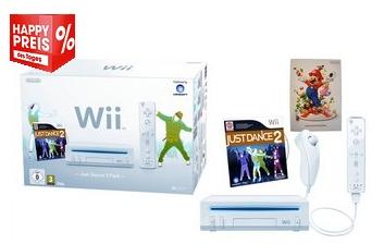 Nintendo Wii im Just-Dance-Set für 89,99 € bei Otto