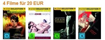 Neue DVD- und Blu-ray-Aktionen von Amazon - z.B. 2 Blu-rays für 18 €